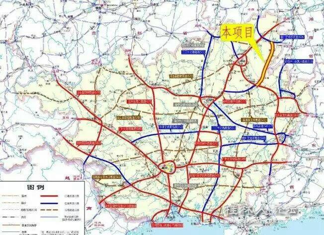 恭城县乡镇地图